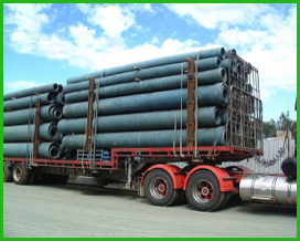 green pipe cartage